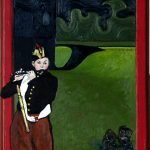 Manet's Fifer at Pevensey Castle by Andrew Aarons